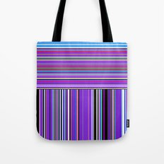 Re-Created Lines & Stripes 7 by Robert S. Lee Tote Bag