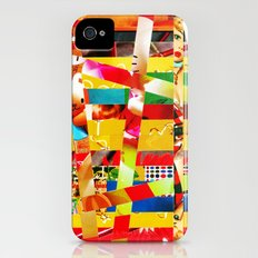 Jiseo (stripes 12) iPhone (4, 4s) Slim Case