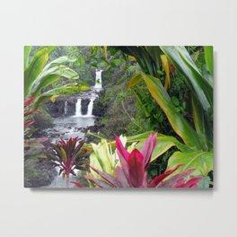 Umauma Falls Metal Print