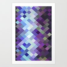Pixelate III Art Print