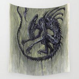 Xenomorph Wall Tapestry