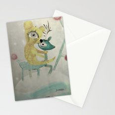 Vintage Whimsical Christmas Stationery Cards