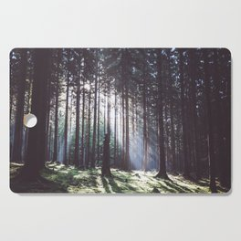 Magic forest - Landscape and Nature Photography Cutting Board