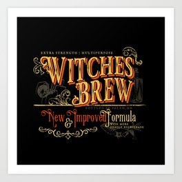 Witches Brew Art Print