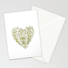 Nature heart Stationery Cards