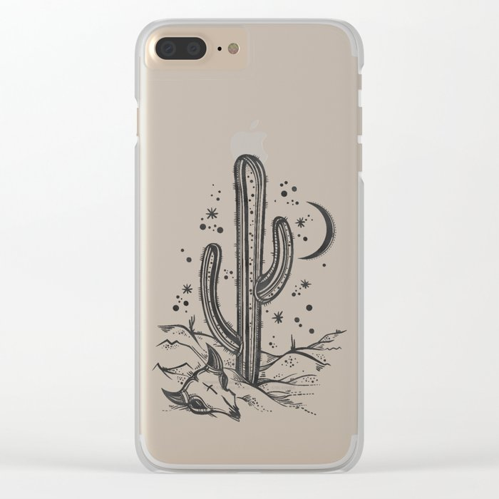 Arizona Nights Clear iPhone Case