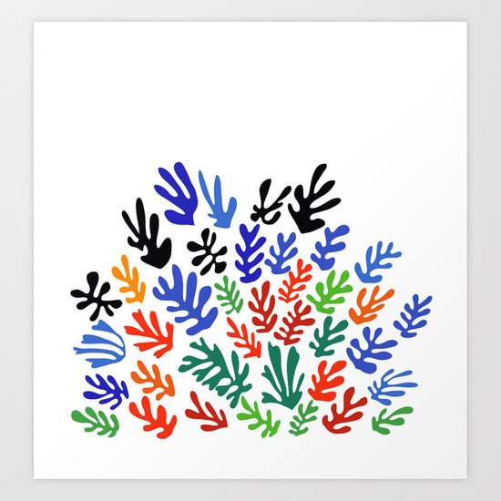 Matisse Floral Pattern #1 by shamila