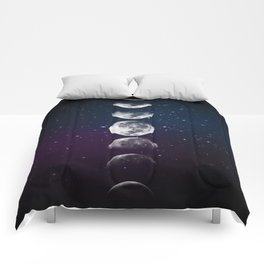 Phases of the Moon Comforters