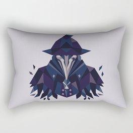 Eileen the crow - Bloodborne Rectangular Pillow