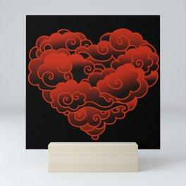 CLOUD HEART Mini Art Print