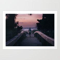 Dawn Patrol  Art Print