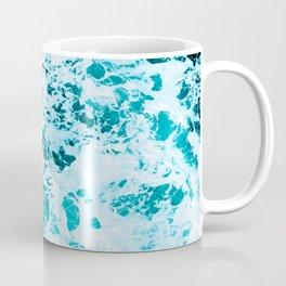 Deep Turquoise Sea - Nature Photography Coffee Mug