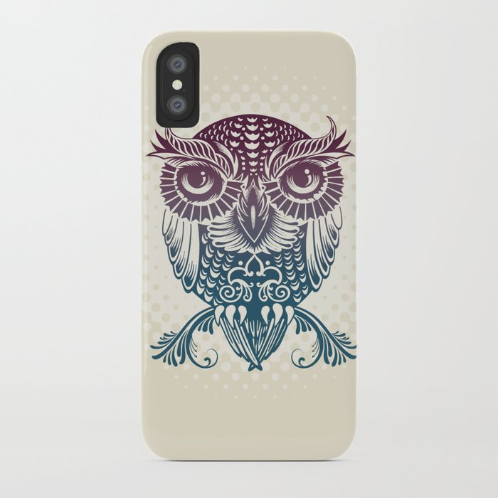 Baby Egyptian Owl iPhone Case