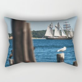 Tall Ship Gulden Leeuw Rectangular Pillow