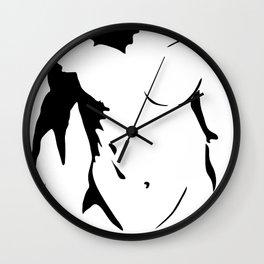 Torso Vector Wall Clock