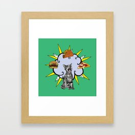 Cat Food Framed Art Print
