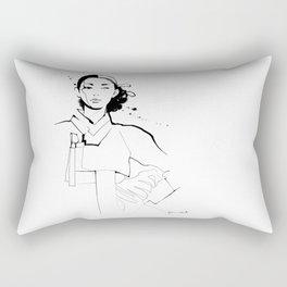 Ethnic Beauty - Korea Rectangular Pillow