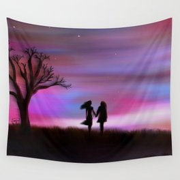 Monday Dawning Wall Tapestry