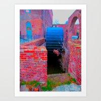 ironworks 3 Art Print