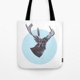 Deer in headlights Tote Bag