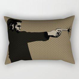 Kittappa Series - Brown Rectangular Pillow