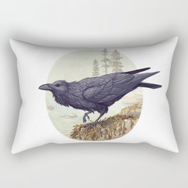 Raven of the North Atlantic Rectangular Pillow