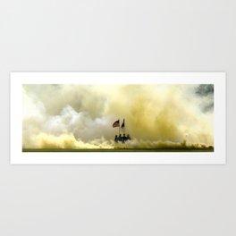 US Army Graduation - Panoramic Art Print