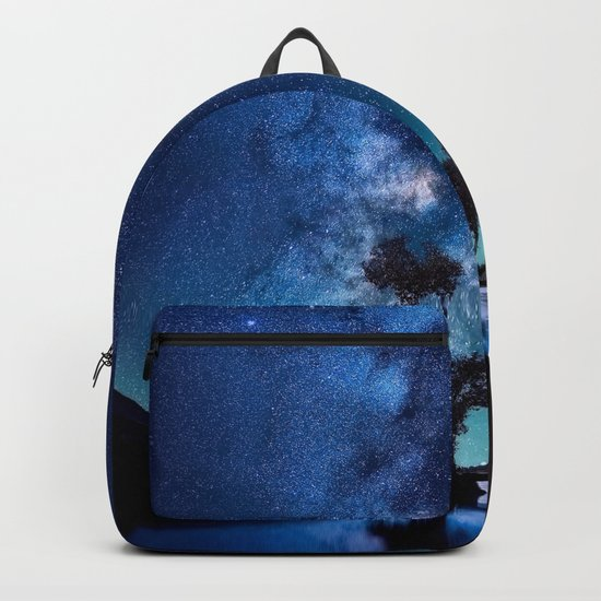 The World Above (Perfect Night Sky with Stars) Backpack