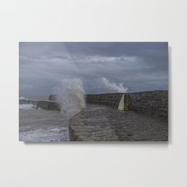 Waves over the Cobb Metal Print