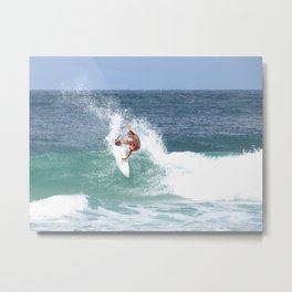 Surf! Metal Print
