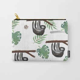 Sloth in Foliage Carry-All Pouch