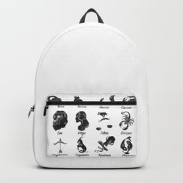 Zodiac Star Chart Backpack