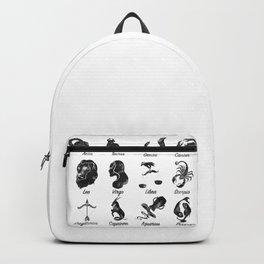 Zodiac Star Chart Backpack