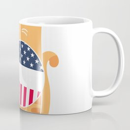 Election Voter Sticker Funny Cat Lover Vomited Politics Gift T-Shirt Coffee Mug