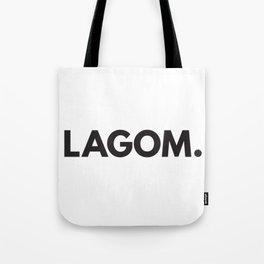 Lagom. Tote Bag
