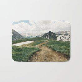 Colorado Mountain Road Bath Mat