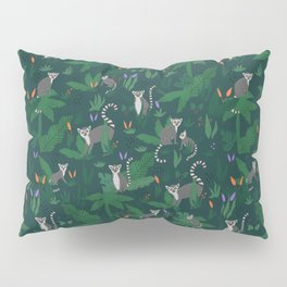 Lemurs in the Forest Pillow Sham