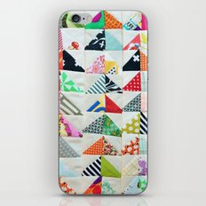 Flying Geese Quilt Pattern iPhone & iPod Skin
