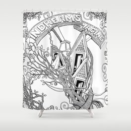 IN DREAMS (comforters, covers, curtains, t-shirts) Shower Curtain