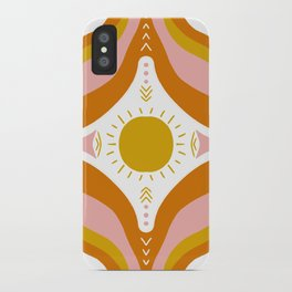sunshine mandala iPhone Case