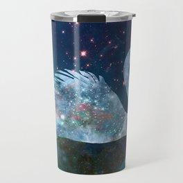 Sparkly Swan Travel Mug