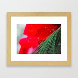 Once At Christmas Framed Art Print