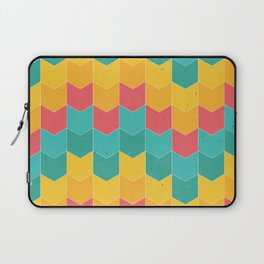 Colorful chevrons Laptop Sleeve
