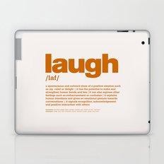 definition LLL - Laugh 8 Laptop & iPad Skin