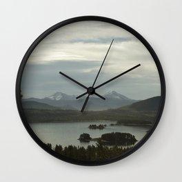 Dillon Reservoir Wall Clock