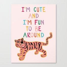 Cute & Fun Canvas Print