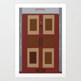 Doors like a boz  Art Print