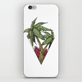 Tropical Beach Palm Trees iPhone Skin