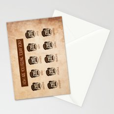 Ron Swanson 5 Stationery Cards