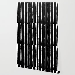 Minimal [3]: a simple, black and white pattern by Alyssa Hamilton Art Wallpaper